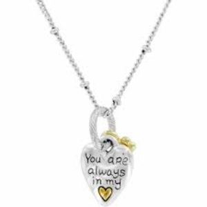 Brighton you are always in my heart necklace